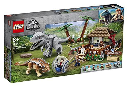 LEGO 75941 Jurassic World Indominus Rex vs. Ankylosaurus, Dinosaurier...