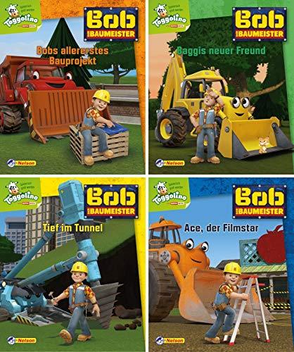 Nelson Mini-Bücher: Bob der Baumeister 9-12: 24 Mini-Bücher im...
