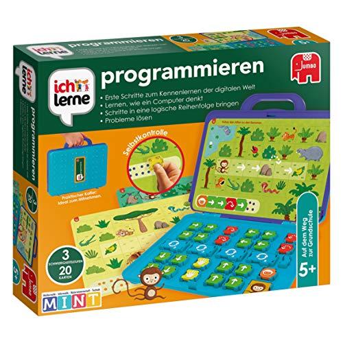 Jumbo JUM19722 ich lerne programmieren Lernspiel für Kinder, Ab 5...