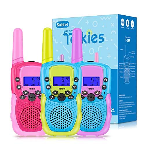 Selieve Spielzeug für 3-12 Jährige Mädchen oder Jungen, Walkie...