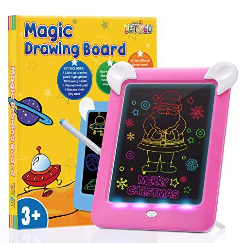 ATOPDREAM Geschenke für Mädchen ab 3-12, LCD Schreibtafel für 4 5 6...