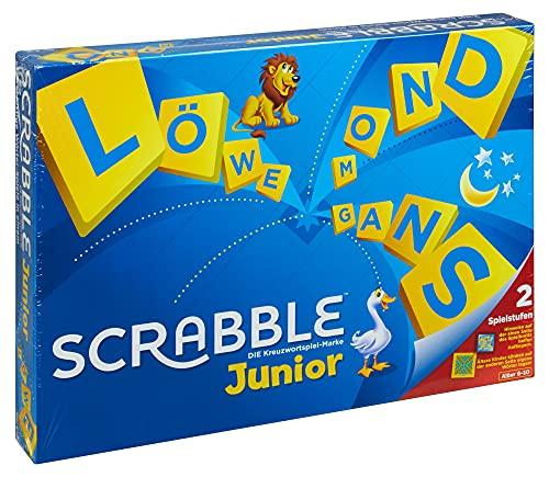 Mattel Games Y9670 - Scrabble Junior Wörterspiel und Kinderspiel,...