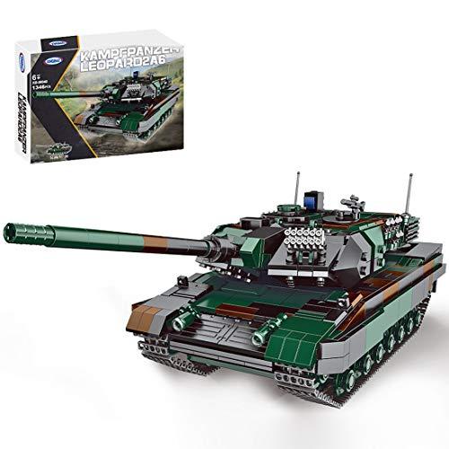 Topbau Technik Panzer Bausteine Bausatz, Militär...