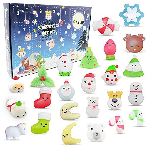Adventskalender für Kinder 2021, 24PCS Squeezing Toys Adventskalender...