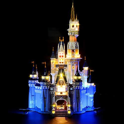 LIGHTAILING Licht-Set Für (Creator Das Disney Schloss) Modell - LED...