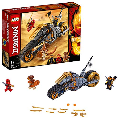 Lego 70672 NINJAGO Coles Offroad-Bike Ninja Motorrad mit...