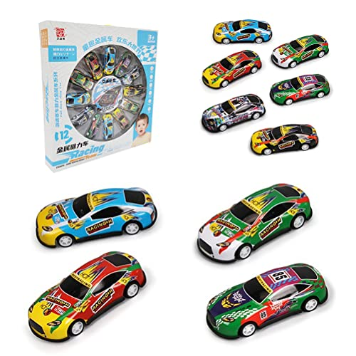 Alloy Pull Back Car, 12 Teile/satz Kinder Legierung Zurückziehen Auto...