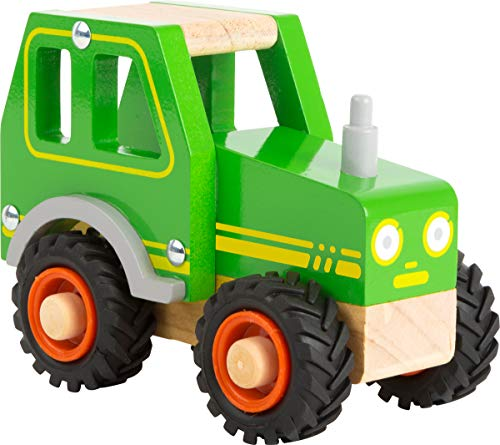 small foot 11078 Einsatzfahrzeug Traktor aus Holz, mit...