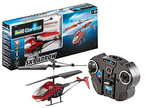 Revell Control RC Helikopter, ferngesteuerter Hubschrauber für Einsteiger, 2-CH IR Fernsteuerung, einfach zu...