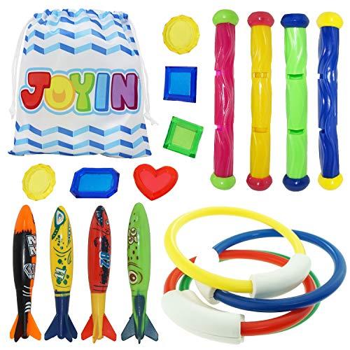 JOYIN 18 Stücke Tauchspielzeug Unterwasser Tauchen Diving Set,...