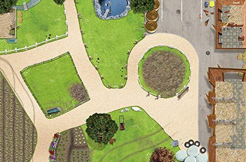 Bauernhof Spielmatte (ähnlich Spielteppich) | Hochwertige Reiterhof...