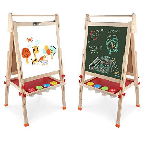 Arkmiido Kinder Tafel Holz,schultafel für...