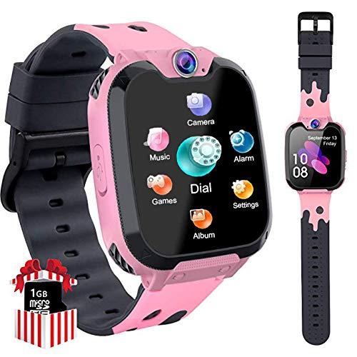 PTHTECHUS Kinder Smartwatch Telefon - Smartwatch Kinder Uhr Telefon...