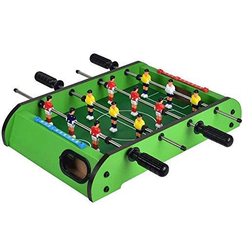 HAODGUO Deluxe Mini-Holz-Tisch-Fußball Foosball Family Fun Spiel -...