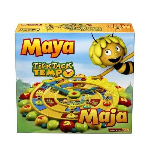 Studio 100 - MEMA00000080 - Die Biene Maja : Brettspiel Tick Tack...