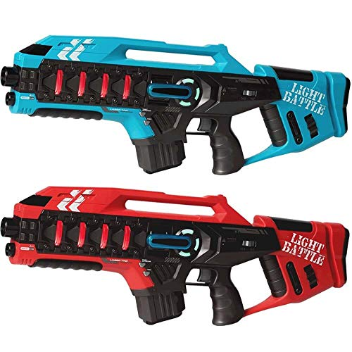 Light Battle Active Lasertag Set - 2X Mega Blaster...