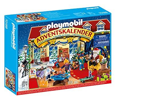 PLAYMOBIL Adventskalender 70188 Weihnachten im Spielwarengeschäft mit...