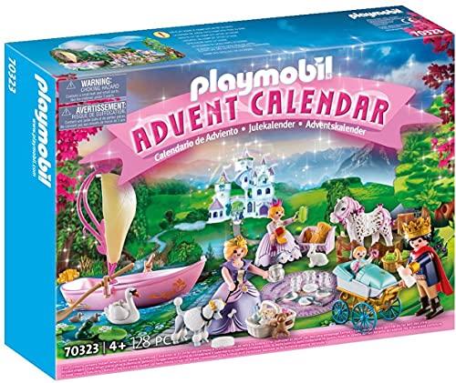 PLAYMOBIL Adventskalender 70323 Königliches Picknick im Park mit...
