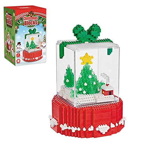 GUDA Weihnachten Bausatz,810 Teile Klemmbausteine Weihnachtsspielzeug...