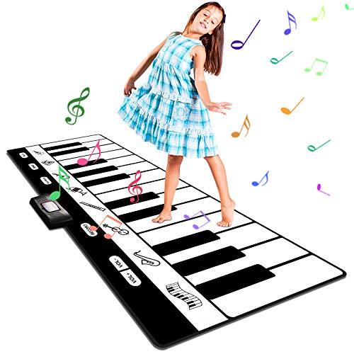 Musikmatte Kinder Klaviermatte, Groß Tanzmatte Musikmatte...