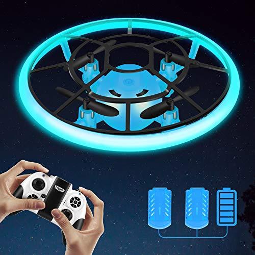 Rolytoy VraiJouet Mini Drohne für Kinder mit LED, Ferngesteuertes...