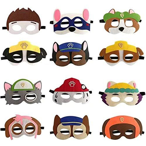 Paw Patrol Geburtstagspartymasken für Paw Patrol Kostümparty,...