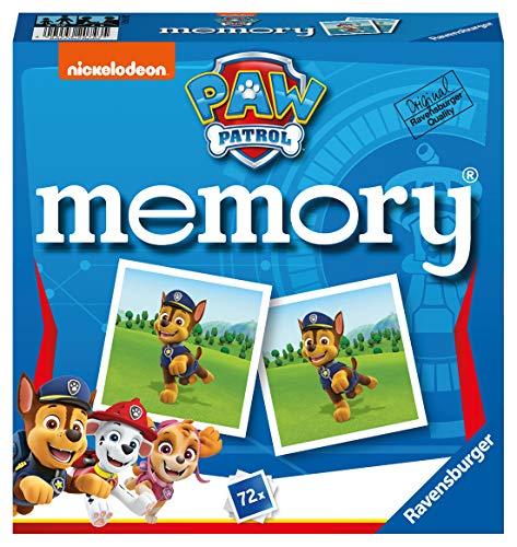 Ravensburger - 20743 Paw Patrol Memory, der Spieleklassiker für alle...