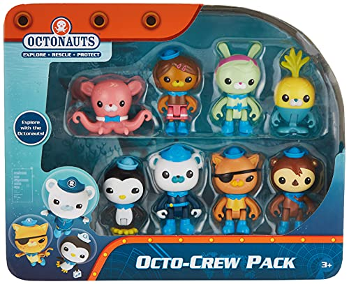 Mattel Octonauts 8-Figure Octo-Pack (Pack of 8)