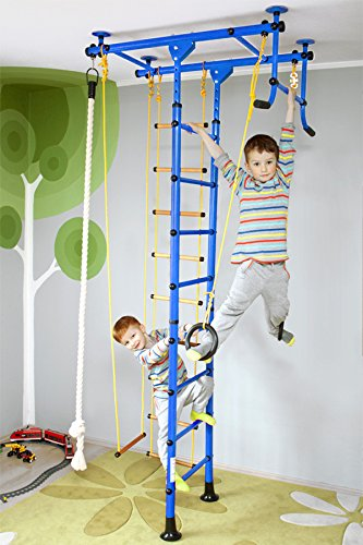 NiroSport FitTop M1 Indoor Klettergerüst für Kinder Sprossenwand...