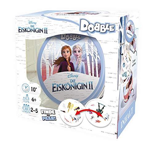 Asmodee Zygomatic ASMD0068 Dobble Disney Frozen II, Familien-Spiel, Deutsch