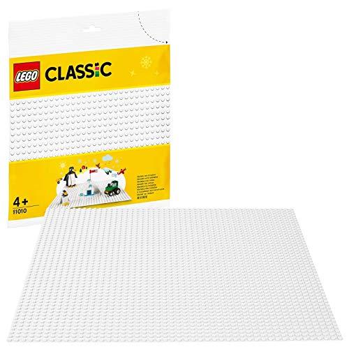 LEGO 11010 Classic Weiße Bauplatte 25 cm x 25 cm für Winter-Sets,...
