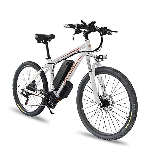 E Bike Mountainbike K820, 26/29 Zoll E-Bike Pedelec für Damen Herren...