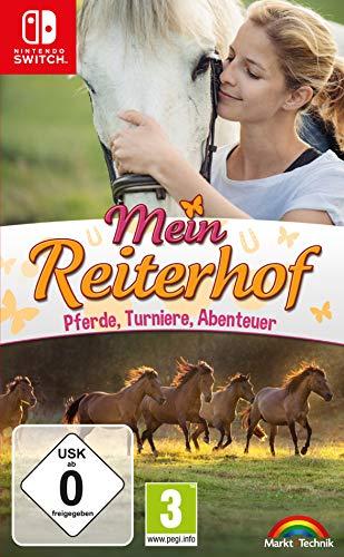 Mein Reiterhof - Pferde, Turniere, Abenteuer Simulation - Nintendo...