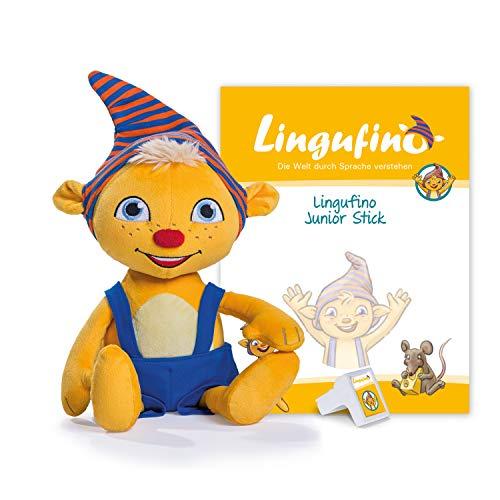 DIALOG TOYS Lingufino Junior Starter Set mit Plüschfigur,...