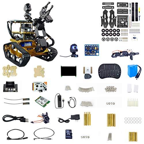 ZDSKSH Roboter Bausatz mit 1080P HD Kamera, DIY Raspberry Pi Roboter,...