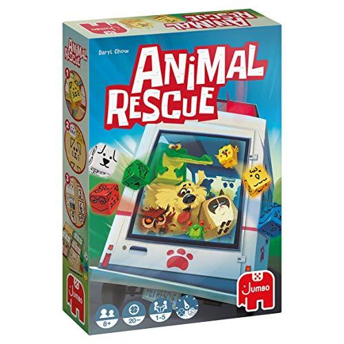 Jumbo Spiele - Animal Rescue - Gesellschaftsspiel, Familienspiel - Ab 8 Jahren