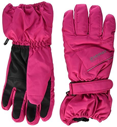 Ziener Baby LOMO AS Ski-Handschuhe/Wintersport | Wasserdicht, Atmungsaktiv, pop pink, 92cm (S)