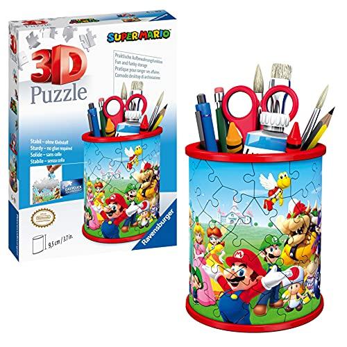 Ravensburger 3D Puzzle Utensilo Super Mario 11255 - 54 Teile -...