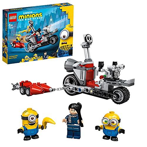 LEGO 75549 Minions Unaufhaltsame Motorrad-Jagd, Spielzeug für Kinder...