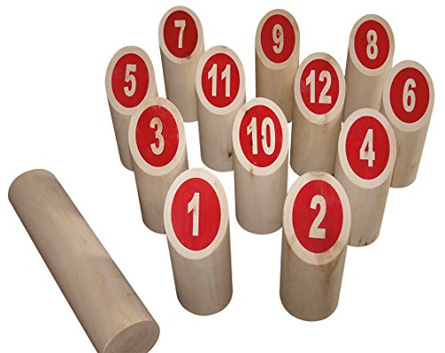 Beluga Spielwaren 70423 - Nummern Kubb