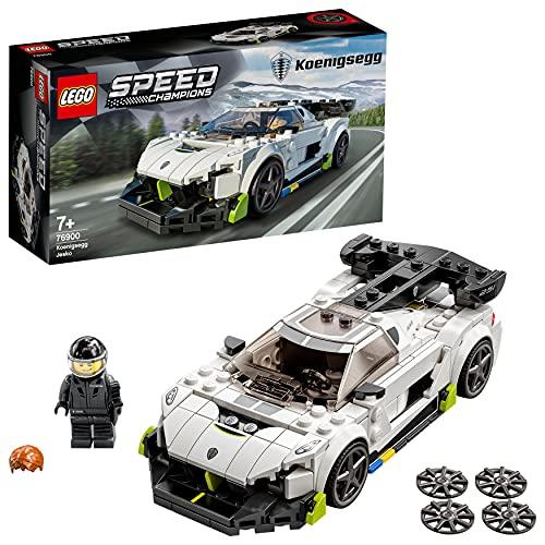 LEGO 76900 Speed Champions Koenigsegg Jesko Rennauto, Spielzeugauto,...