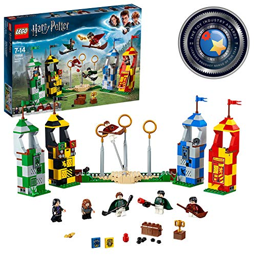 LEGO Harry Potter – Quidditch Turnier (75956) Bauset (500 Teile)