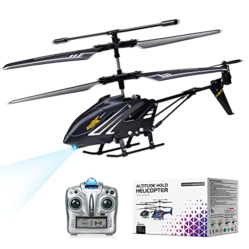 MKZDGM RC Hubschrauber mit Gyroskop und 2.4G LED Lichtern, 3,5 Kanal...
