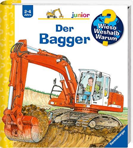 Wieso? Weshalb? Warum? junior: Der Bagger (Band 38) (Wieso? Weshalb?...