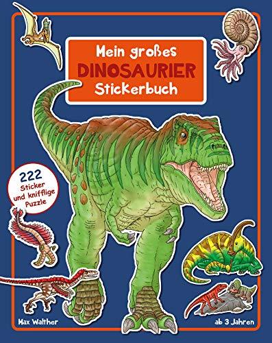 Dinosaurier Stickerbuch: Ab 3 Jahren