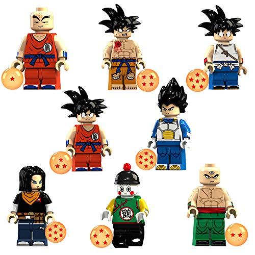 Phy Dragonball Z Figur Actionfiguren Son Goku Son Goten Kuririn Vegeta...
