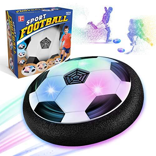 WEARXI Fussball Geschenke Jungen 5 6 10 Jahre - Hover Ball Spielzeug Ab 5-10 Jahre Junge, Air Hockey...