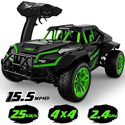 GizmoVine Ferngesteuertes Auto, 2.4GHZ RC Auto 4WD RC Off-Road Buggy Funkfernsteuerung Geländewagen Spielzeug...