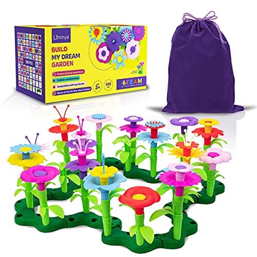 Limmys 105-Teile-Set 'Build My Dream Garden' – Kinder Outdoor...