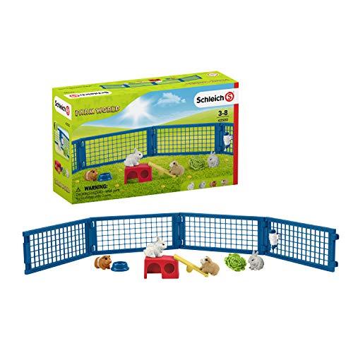 Schleich 42500 Farm World Spielset - Zuhause für Kaninchen und...